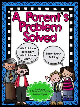 A Parent's Problem Solved!