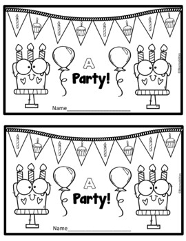 A Party! Emergent Reader (Sight Word: A)