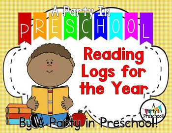 A Party in Preschool Reading Logs for the Year