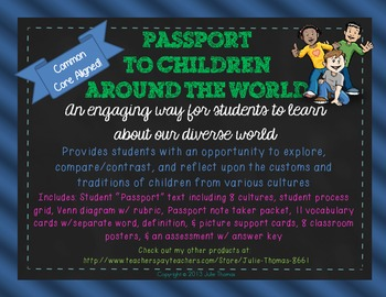 A Passport to Children Around the World
