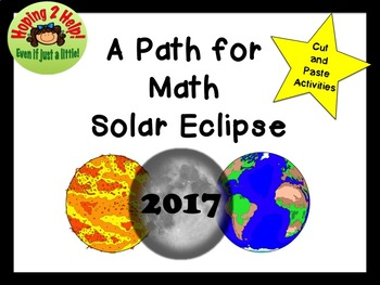 A Path of Math in the Solar Eclipse 2017