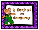 A Pocket for Corduroy Book Study