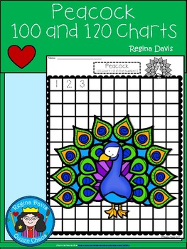 A+ Peacock: Numbers 100 and 120 Chart