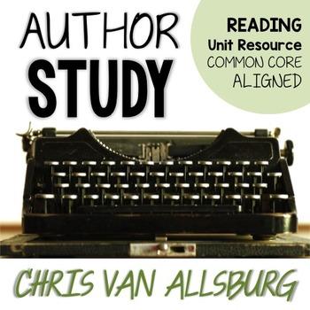 Chris van Allsburg *EDITABLE* Author Study