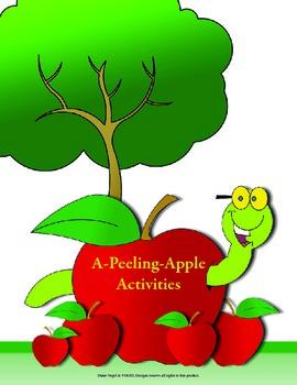 2nd Grade Common Core - A Peeling Apple Activities