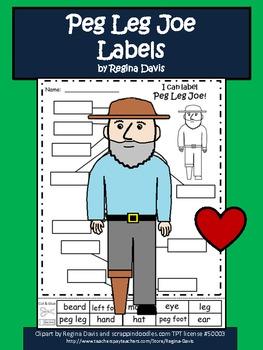 A+ Peg Leg Joe Labels
