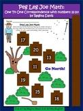 A + Peg Leg Joe Math: Counting Numbers 11-20