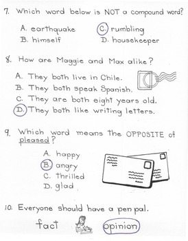 A Pen Pal for Max  3rd Grade  Harcourt Storytown Lesson 12