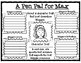 A Pen Pal for Max Character Analysis Graphic Organizers