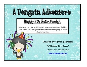 A Penguin Adventure:  Happy New Year, Purdy!