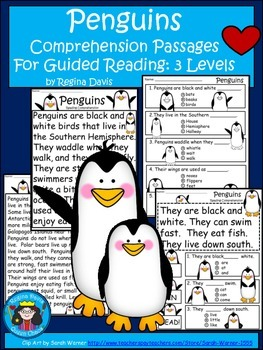 A+ Penguin Comprehension: Differentiated Instruction For Guided Reading