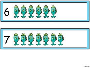 A+ Penguin & Fish Number Sense