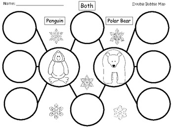 A+ Penguin & Polar Bear:  Double Bubble Maps