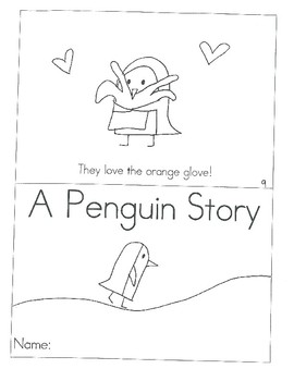A Penguin Story - Mini Book (Numbered)