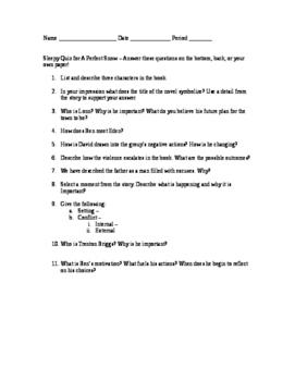A Perfect Snow - Sleepy Quiz