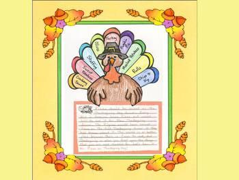 A Perfect Thanksgiving Dinner Craftivity