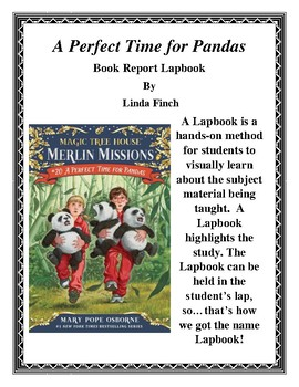 A Perfect Time For Pandas Magic Tree House Lapbook