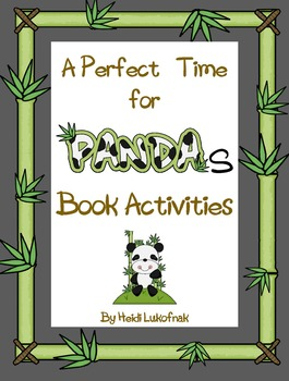 A Perfect Time for Pandas Book Activities
