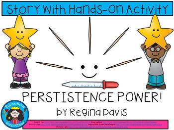 A+ Persistence Power!  Book With Hands On Activity...Creat
