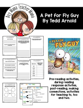 A Pet for Fly Guy Reading Activities