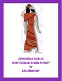 A Phoenician Puzzler:Secret Message Review Activity
