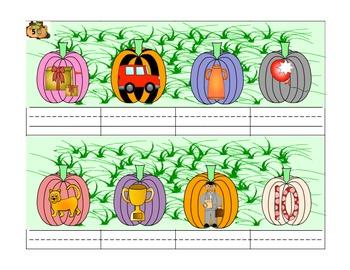 A Phonics CVC Pumpkin Patch