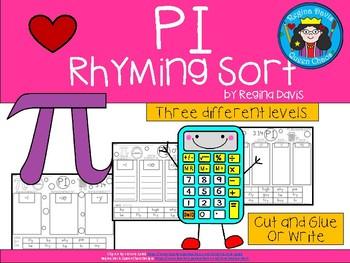 A+ Pi ... Rhyming Sort