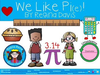A+ Pi ... We Like Pi(e)! Classroom Reader Explaining Pi