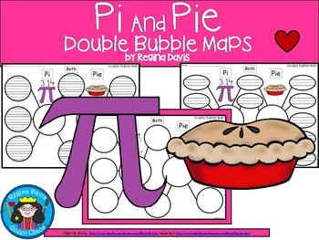A+ Pi and Pie:  Double Bubble Maps