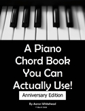 A Piano Chord Book You Can Actually Use!