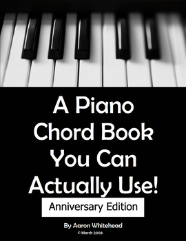 A Piano Chord Book You Can Actually Use!