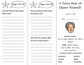 A Picture Book of Eleanor Roosevelt Trifold - ReadyGen 2nd
