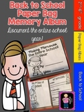 Back to School Paper Bag Memory Album- Document the Whole Year!
