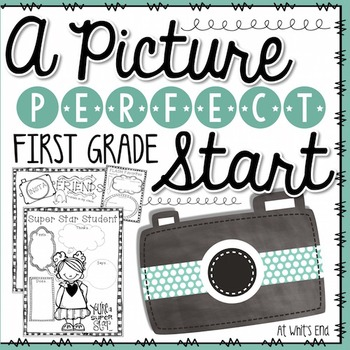 Picture Perfect Start: First Grade {Back to School Book} Printables