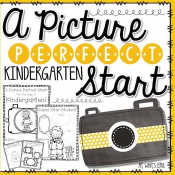 Picture Perfect Start: Kindergarten {Back to School Book} Printables