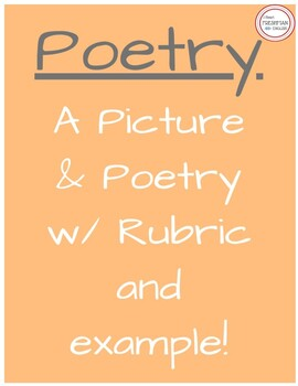 A Picture and Poetry -  Freshman