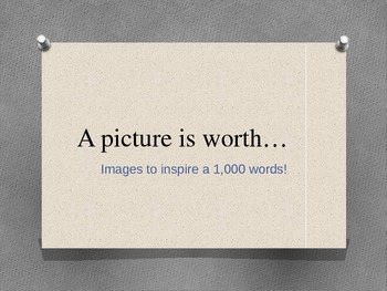 A Picture is Worth...
