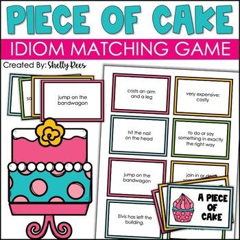 Idiom Memory Matching Game: A Piece of Cake