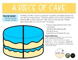 A Piece of Cake (Partitioning Shapes)
