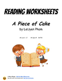A Piece of Cake  by LeUyen Pham: Reading Worksheets
