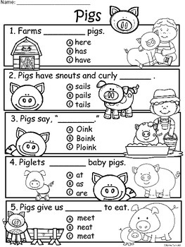 A+ Pig Comprehension: Differentiated Instruction For Guided Reading