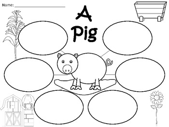 A+  Pig ... Three Graphic Organizers