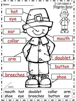 A+ Pilgrim Boy Labels