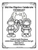 A Pilgrim Christmas Unit - A Colonial Perspective of the Holidays