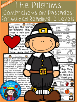 A+ Pilgrim Comprehension:Differentiated Instruction For Guided Reading