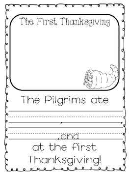 A Pilgrim Craftivity! {Comparing Then and Now}