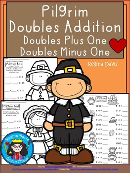 A+ Pilgrim Doubles Addition: Doubles Plus One, Doubles Minus 1