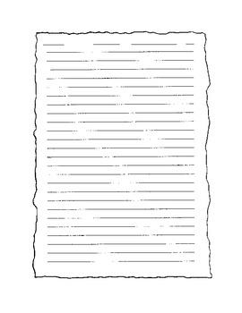 A Pilgrim's Letter Writing Activity