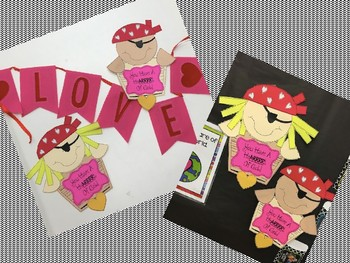 A Pirate Valentine's Day Craft {You Have A HeARRRt Of Gold}
