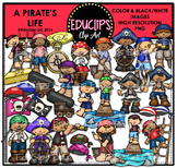A Pirate's Life Clip Art Bundle {Educlips Clipart}